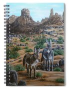 Desert Gypsy's Spiral Notebook