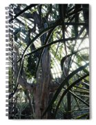 Desert House Sunset Spiral Notebook
