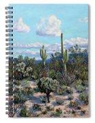 Desert Landscape Spiral Notebook