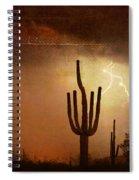 Desert Landscape Southwest Spiral Notebook