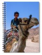 Desert Locomotion Spiral Notebook