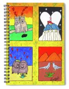 Desert Love Spiral Notebook