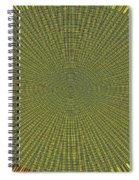 Desert Marigold Flowers Abstract #2 Spiral Notebook