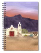 Desert Mission Spiral Notebook