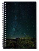 Desert Night Skies  Spiral Notebook