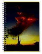 Desert Phantom Spiral Notebook