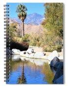 Desert Pond Spiral Notebook