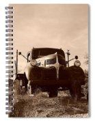 Desert Rat Flatbed Spiral Notebook