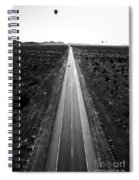 Desert Road Spiral Notebook