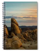 Desert Rocks Spiral Notebook