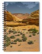 Desert Sandstone Cliffs Valley Of Fire Spiral Notebook