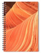 Desert Sandstone Waves Spiral Notebook