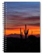 Desert Skyline  Spiral Notebook