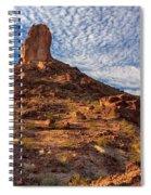 Desert Spire Spiral Notebook