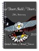 Desert Storm 25th Anniversary Spiral Notebook