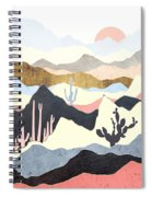 Desert Summer Spiral Notebook