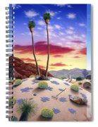 Desert Sunrise Spiral Notebook