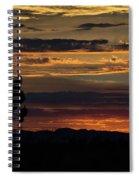 Desert Sunset Spiral Notebook
