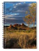 Desert Track Spiral Notebook