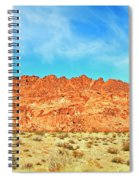 Desert Valley Of Fire Spiral Notebook