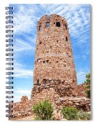 Desert View Tower, Grand Canyon Spiral Notebook