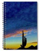 Desert Wave Spiral Notebook