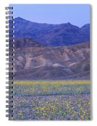 Desert Wildflowers, Death Valley Spiral Notebook