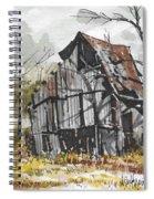 Deserted Barn Spiral Notebook