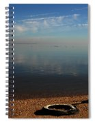 Deserted Beach Spiral Notebook