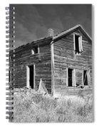 Deserted Home On The Range Spiral Notebook
