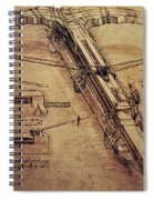 Design For A Giant Crossbow Spiral Notebook