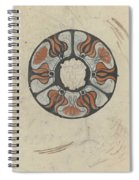 Design For A Memorial Plaque With W And A Coat Of Arms, Carel Adolph Lion Cachet, 1874 - 1945 Spiral Notebook