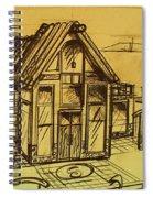 Design Sketch  Spiral Notebook