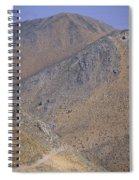 Desolate Highway Spiral Notebook