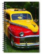 Desoto Skyview Taxi Spiral Notebook