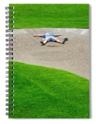 Desperate Golfer Spiral Notebook