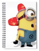 Despicable Me 2 Spiral Notebook