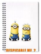 Despicable Me 2  Spiral Notebook