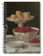 Dessert Still Life, 1855 Spiral Notebook