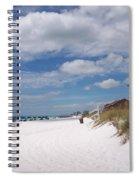 Destin Beach Spiral Notebook