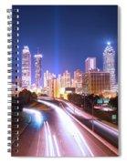 Destination Atlanta Spiral Notebook