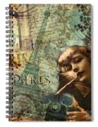 Destination Paris Spiral Notebook