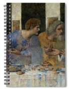 Detail From The Last Supper Spiral Notebook