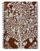 Detail Of A Vintage Botanical Pattern Spiral Notebook