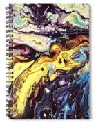 Detail Of Conjuring Spiral Notebook