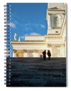 Detail Of Helsinki Cathedral Spiral Notebook