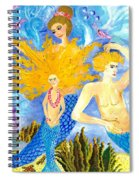 Detail Of Mer Mum And Comb The Family Spiral Notebook