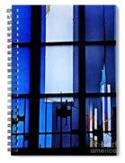 Detail Of Modern Johannes Schreiter Window Mainz 2 Spiral Notebook