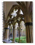 Detail Of Salisbury Cathedral Cloister  Spiral Notebook