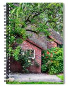 Detail Of Typical Dutch Old Yard Spiral Notebook